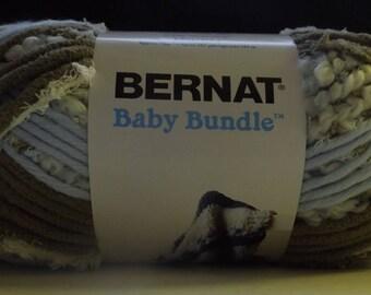 Bernat Baby Bundle Yarn ~ Jumbo Ball ~Blue Nest #27007 ~ 250 grams/ 8.8 Ounces ~ 189 meters/207 yards