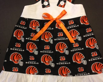 NFL Cincinnati Bengals Baby Infant Toddler Girls Dress  You Pick Size