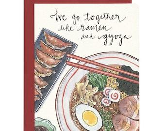 Ramen & Gyoza Card