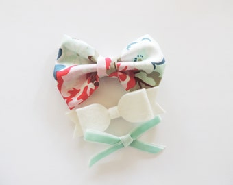 Baby Headbands / Baby Girl Bow Headband / Bow Headband Set / Baby Bow Headbands / Nylon Headbands / Baby Headband Set / Baby Headband Bows