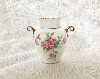 Atnsley Grotto Rose Small Vase Floral