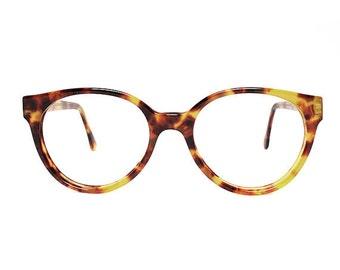 Roud Vintage Eyeglasses Sting Albin Matte - Tortoise glasses - NOS