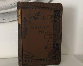 The Waverley Novels The Abbot Sir Walter Scott Antique Hardcover Book