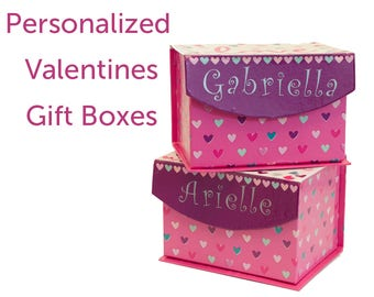 Personalized Valentines Day Gift Boxes