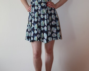 Flower print summer dress (Warehouse)