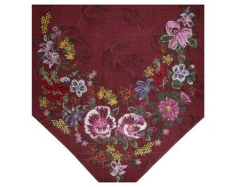 TABLE RUNNER 2 - Machine Embroidery Design digitized by Dawn Johnson