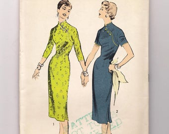 1950's Vogue dress pattern #7906 Size 12