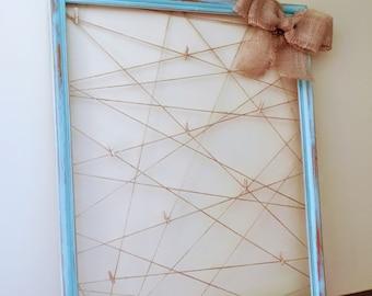 Upcycled Twine Memo & Photo Frames