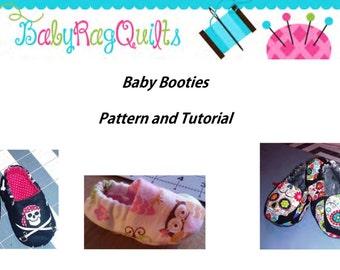 Baby Slipper sewing pattern,Baby Shoe PDF Pattern,Soft Sole Shoe Sewing Pattern,Baby Booties PDF, Baby Slippers PDF,Crib shoe sewing pattern