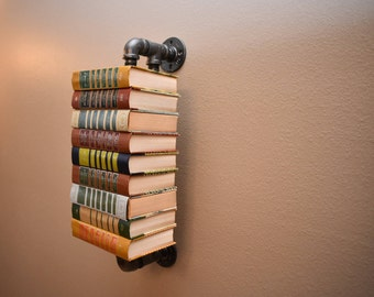 Pipe Book Stack
