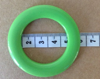HIGH density plastic LARGE RINGS (5.5cm) for swimsuit/fashion garments