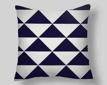 Blue Pillow Covers,Navy Blue Pillows Throw Pillows, Decorative Pillows, Pillow Covers, Cushion Covers Home Decor Blue Throw Pillows