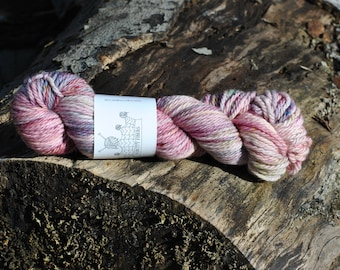 "CHUNKY: ""Potpourri"" hand dyed yarn, handpainted yarn, superwash merino yarn,, bulky yarn, kettle dyed yarn, bulky"