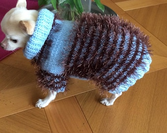 Sweater... wool coat for dog or cat.. .length back about 27 cm