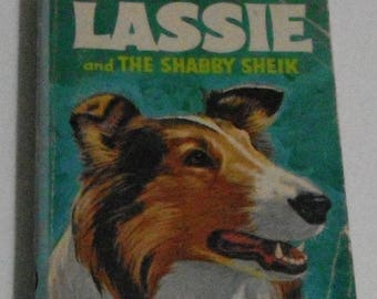 Lassie and the Shabby Sheik by George S Elrick Whitman A Big Little Book Vintage Small Softcover Book