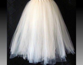 "Tutu skirt 30"" long customize your size priority shipping"