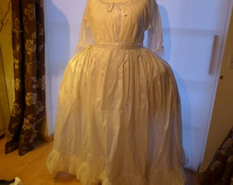 18th Century Petticoat to Fit Over Paniers