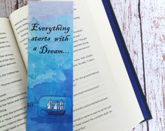 Everything starts with a dream bookmark