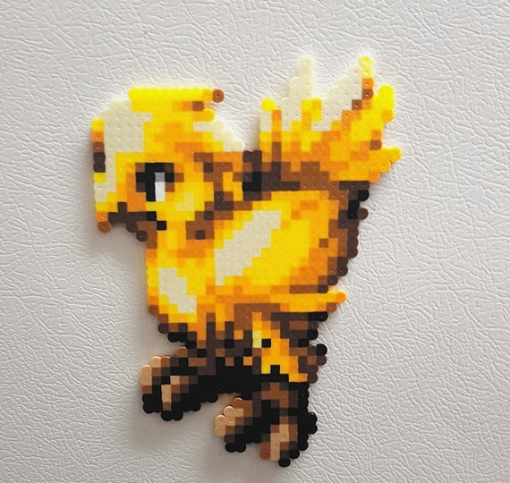 Final Fantasy Chocobo perler beads final fantasy 6 video