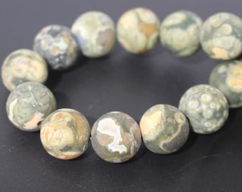 Matte Birdseye Rhyolite Smooth Round Beads,loose beads wholeasale,15'' per strand 6mm 8mm 10mm 12mm