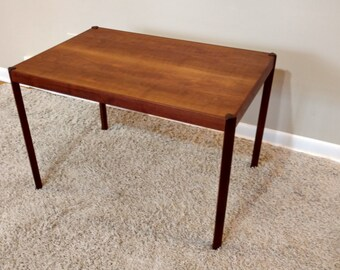 Mid Century Hans Olsen Danish Modern Teak Table