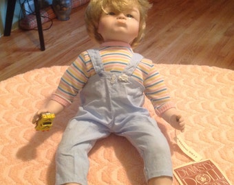 Vintage 1980's Dynasty Doll, Weeping Willy Collectible Dynasty Doll