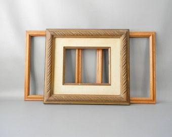 Set of 3 Vintage Photo Frames