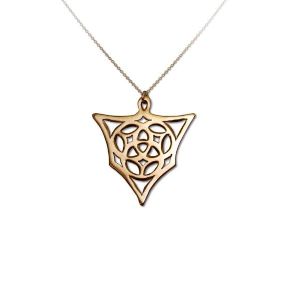 Trinity tribal magic trinity necklace trinity pendant te gusta este artculo aloadofball Gallery
