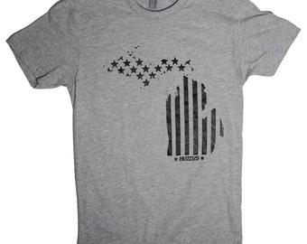 Michigan Shirt, Michigan Tshirt, Mitten Shirt, Michigan Pride Shirt, Michigan tee, Michigan USA shirt