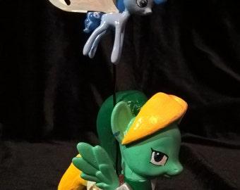 Custom Link My Little Pony and Navi Breezy