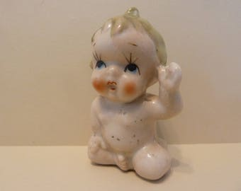 cupie doll Shaker, With Cork Stopper, Japan Stamp