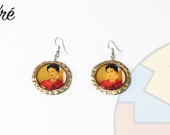 Mexican earrings / Frida Kahlo Earrings/ Earrings / Folkloric Earrings / Frida Kahlo