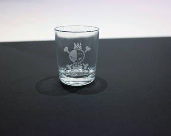 Glass shot One Piece - Franky
