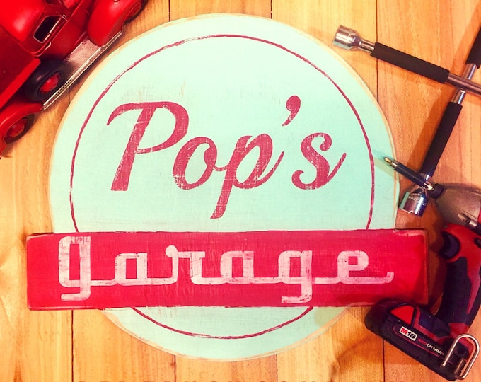 Game Room Art. Game Room Decor. Father's Day Gift. Boy Gift. Mancave Decor. Fixer Upper Decor. Guy Gifts. Garage Sign. Vintage Car Decor.
