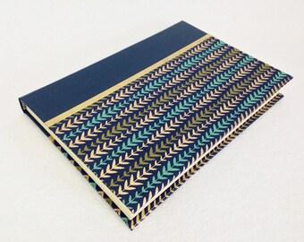 Handmade Journal with Vine Pattern