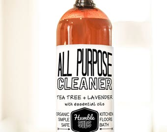 Organic Tea Tree + Lavender All Purpose Cleaner