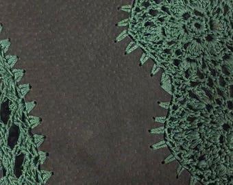 Vintage Leather Patchwork Vest
