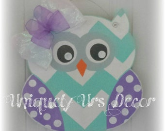 Mini Owl Door Hanger