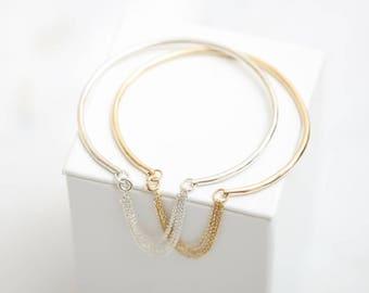 Bracelet • Gold Bracelet • Rose Gold Bracelet • Silver Bracelet • Chain Bracelet • Minimalist Bracelet • Dainty Bracelet • Simple Bracelet •