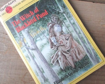 The Witch of Blackbird Pond Elizabeth George Spears Paperback Young Adult Ficiton Newbery Medal Winner