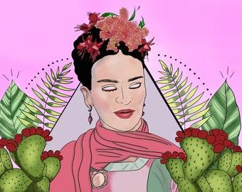 Art Print: Frida