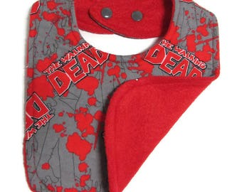 Walking Dead Baby Bib