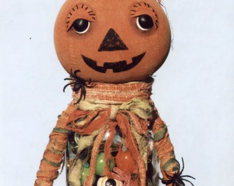 Primitive PATTERN Creepy Petey Candy Container