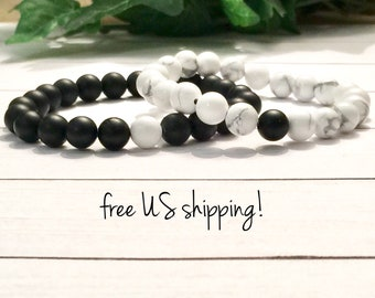 Distance Bracelets Distance Bracelets for Friends Friendship Bracelets Long Distance Bracelets for Couples DreamCuff Jewelry Free Shipping
