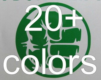 Fist Vinyl Decal / Sticker ~ Available in 24 colors