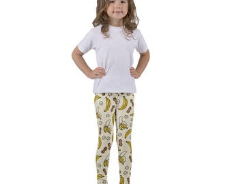 Nutty for Nanners! Kid's Leggings