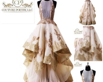 Couture Royal Gown