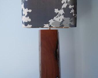 Ironbark wood lamp base #38 handmade from reclaimed timber for table, desk or bedside