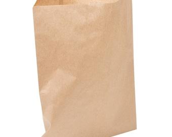 "50 Brown Kraft Paper Bag 15X18"" printable bags, DIY weddings, favor bags, candy bag, merchandise bags, treat bags, party supplies, wedding"
