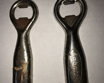 Two Metal Bottle Openers - 1960s